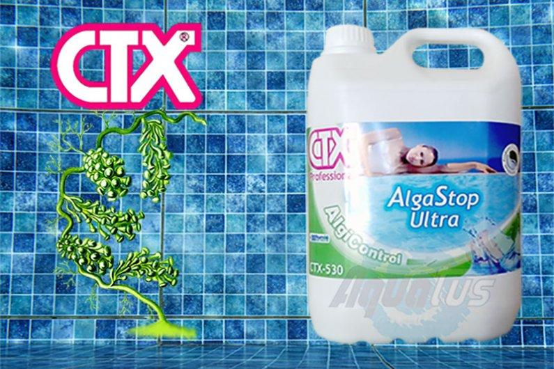 Կոնցենտրացված ալգիցիդը կանխում է ջրիմուռների եւ միկրոօրգանիզմների աճը